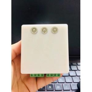 Công tắc wifi 3 thiết bị điều khiển bằng giọng nói tiếng Việt